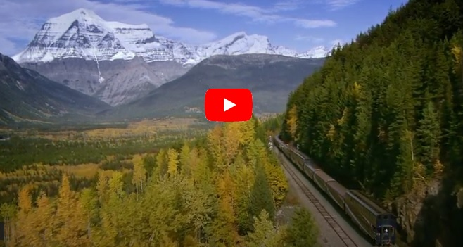 Rocky Mountaineer video link